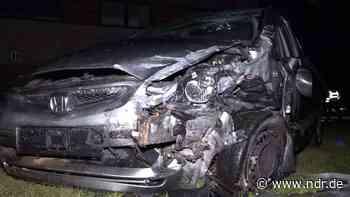 Mann bei Autounfall in Molbergen lebensgefährlich verletzt - NDR.de