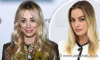 Kaley Cuoco shoots down rumors she is feuding with Margot Robbie