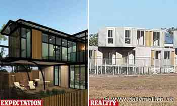 Neighbours at war over Hong Kong businessman's development that looks like 'shipping containers'