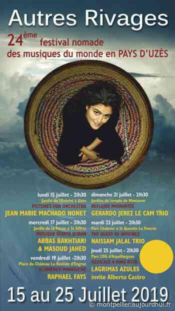 NAISSAM JALAL TRIO - 24EME AUTRES RIVAGES D'UZES - PARC CHABRIER - Concerts - St Quentin La Poterie - sortir à Montpellier - Le Parisien Etudiant
