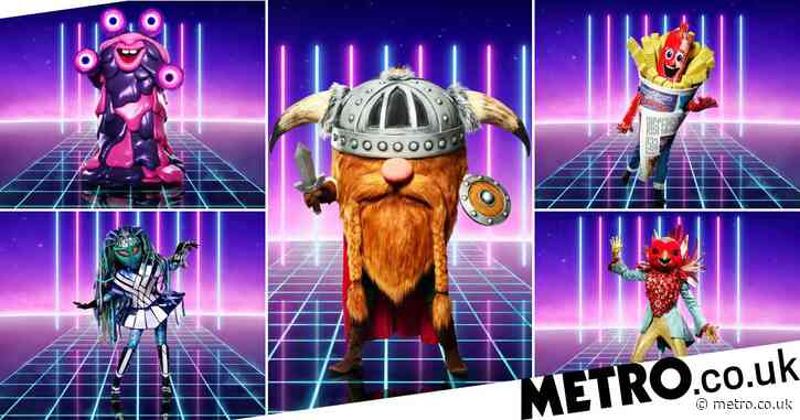 The Masked Singer UK reveals first-look at wacky celebrity costumes – ranging from Sausage to Blob and Viking