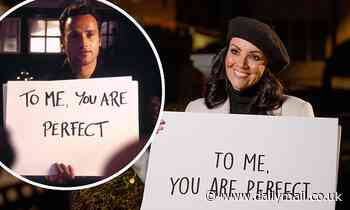 Martine McCutcheon reenacts THAT iconic Love Actually scene