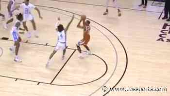 WATCH: Texas wins Maui Invitational thriller over North Carolina with late jumper as time winds down