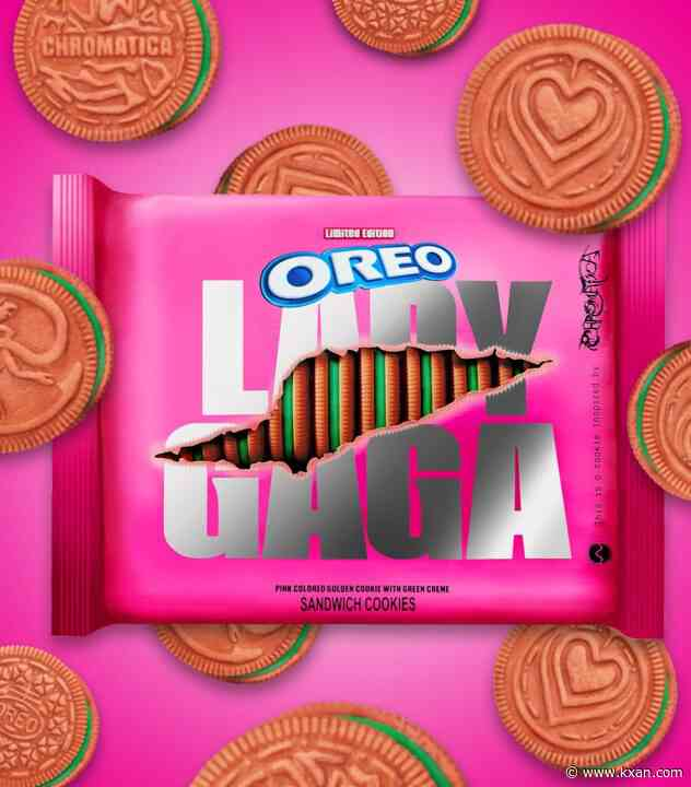 Oreo releases new Lady Gaga-themed cookies