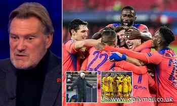 Hoddle: Chelsea are 'ABOVE Barcelona and Real Madrid' and should aim for Champions League semis