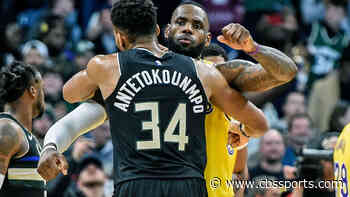 Giannis Antetokounmpo says LeBron James is the 'best player in the world' even if he's not league MVP