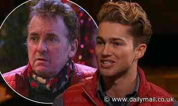 I'm A Celebrity: AJ Pritchard discusses THAT row with Shane Richie