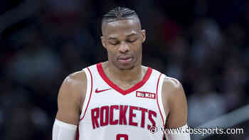 Russell Westbrook trade: Rockets deal All-Star guard to Wizards for John Wall, first-round pick, per report