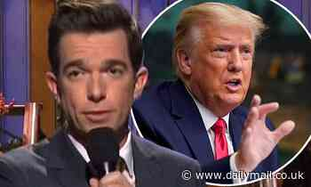 John Mulaney probed by Secret Service over joke 'that was not about Donald Trump'