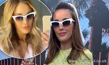 Bec Judd reveals the VERY surprising price tag of her favourite white sunglasses