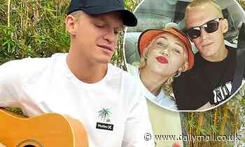 Cody Simpson teases new music with a 'riffing' sessions after his Miley split