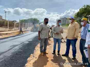 Alcalde de Caroní inició rehabilitación vial de la carrera Guasipati y avenida Guayana - primicia.com.ve