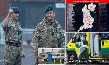 Coronavirus UK: Military carry out dry run for Britain's biggest-ever vaccination programme