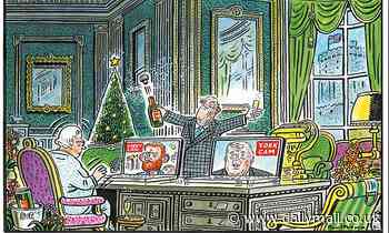 PAUL THOMAS on... the Queen's lonely Christmas