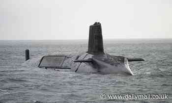 Trident submarine crew 'is replaced after officer tested positive for Covid-19'