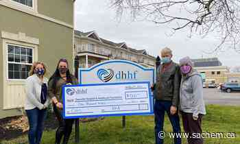 Haldimand Federation of Agriculture donates to Dunnville, Hagersville hospitals - Grand River Sachem