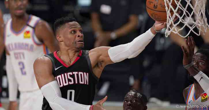 Rockets trade Westbrook to Wizards for Wall, first-round pick