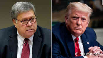 Trump frustrated with Barr after election comments but officials don't want AG fired, sources say