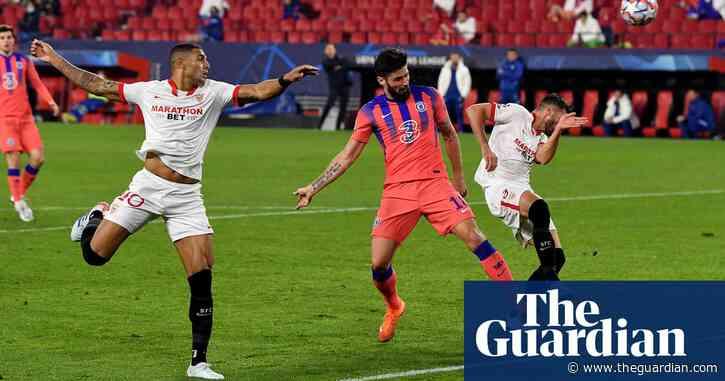 Olivier Giroud's fantastic four flattens Sevilla as Chelsea claim top spot