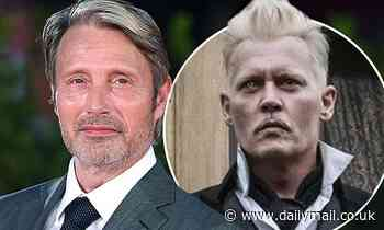 Mads Mikkelsen admits taking over Grindelwald role in Fantastic Beasts from Johnny Depp is 'tricky'