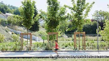 A Grand-Couronne, le parc urbain Jesse Owens, Espace Libre ? - Chroniques d'architecture