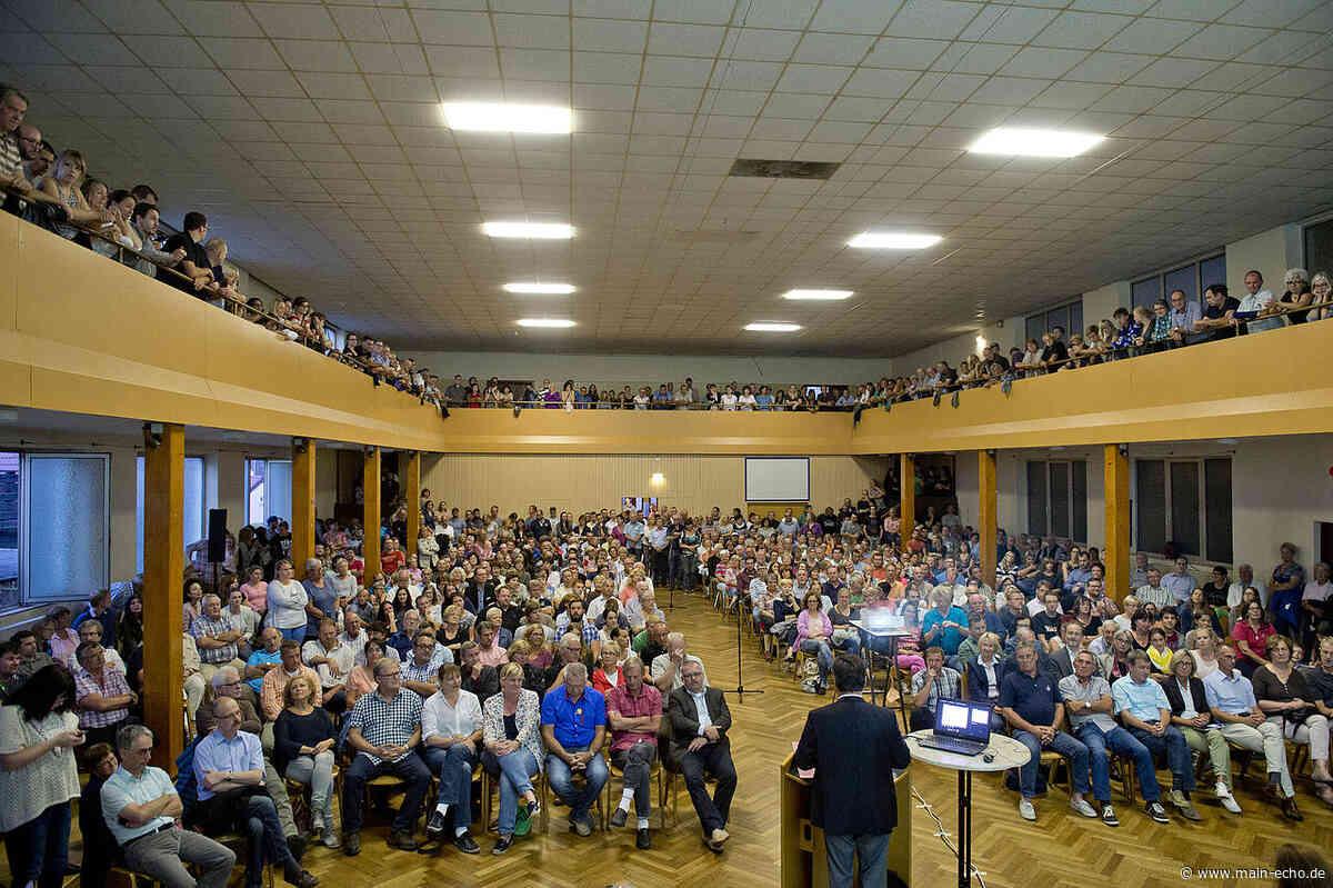 2020 keine Bürgerversammlung in Aschaffenburg - Main-Echo