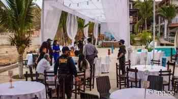 Tumbes: Intervienen fiesta de promoción realizada en hotel de Zorritos - RPP Noticias