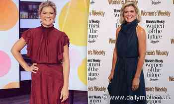 Studio 10 host Sarah Harris leads star arrivals at the Women Of The Future Awards in Sydney