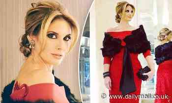 MAFS new sexologist Alessandra Rampolla stuns in a red dress for a photo shoot