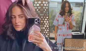 Nova star Michael 'Wippa' Wipfli's wife Lisa's $3,029 outfit for a trip to a Sydney hair salon