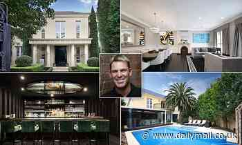 Shane Warne puts his $6million Brighton mansion up for auction