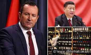 Western Australian Premier Mark McGowan fears for the future if relationship with China worsens