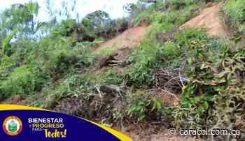 En Viterbo evalúan las zonas afectadas por deslizamientos - Caracol Radio
