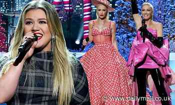 Gwen Stefani, Kelly Clarkson, and more appear during Christmas In Rockefeller Center special