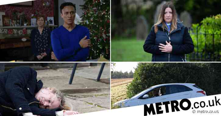 Emmerdale spoilers: Car crash, dead body horror and deadly collapse