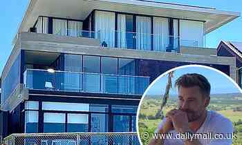 Chris Hemsworth's Gold Coast beachside mansion is revealed as he films Escape from Spiderhead