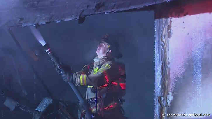 Firefighters Knock Down Garage Fire In Citrus Heights
