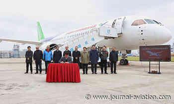 Le C919 entre dans le vif de son programme de certification - Le Journal de l'Aviation