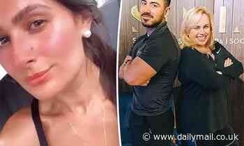 Arabella Del Busso works out with Rebel Wilson's PT Jono Castano