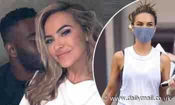 Chrishell Stause goes glam as she cozies up to DWTS costar Keo Motsepe after breaking sweat at gym