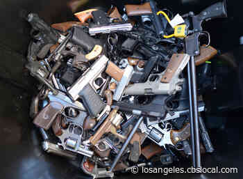 City Of Los Angeles To Hold Gun Buyback Event At 3 Locations - CBS Los Angeles