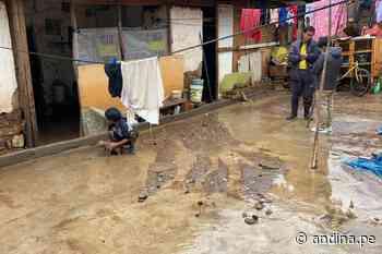 Lluvias intensas causan daños en puesto de salud y vivienda en Carhuaz (video) - Agencia Andina
