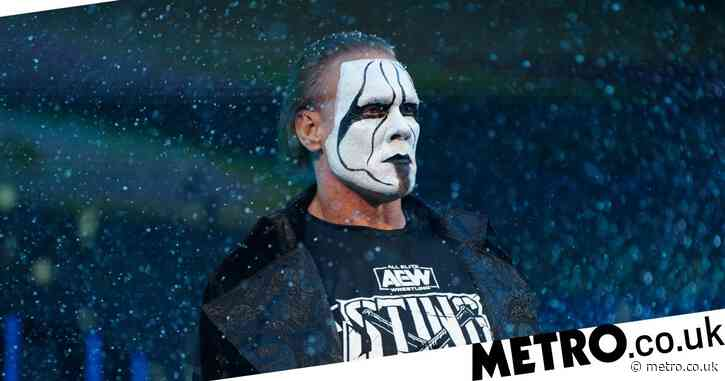 Sting joins AEW with full-time deal as WWE and WCW icon makes Dynamite debut