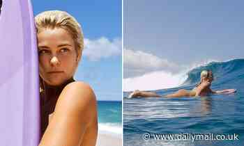 Pro big wave surfer Felicity Palmateer goes on a NUDE surfing trip