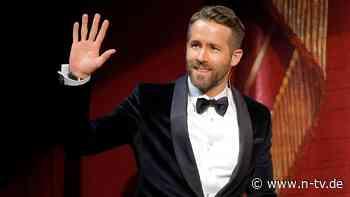 Petition will Schauspieler ehren: Ryan Reynolds verzichtet auf eigene Straße