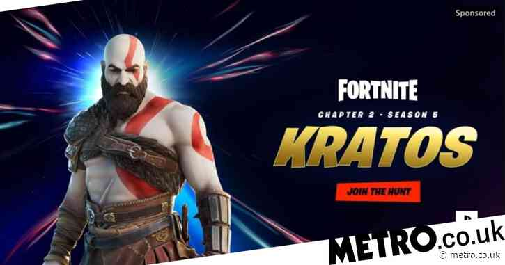 Kratos from God Of War is coming to Fortnite Season 5, new game reveal imminent?