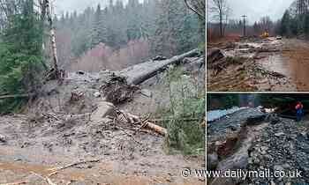 At least six people are missing after a record-breaking storm triggers mudslides in Alaska