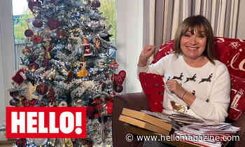 Lorraine Kelly reveals her very quirky Christmas tree decorations – video