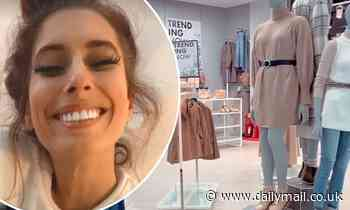 Stacey Solomon visits 'peaceful' Primark at 4AM