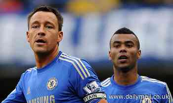 John Terry 'wants former Chelsea team-mate Ashley Cole as part of his backroom staff at Derby'